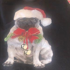 Unisex pug Christmas sweatshirt